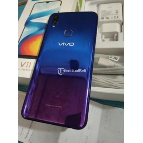 Vivo V11 Ram 6GB  Bagus Warna Nebula Purple dan masih garansi Bisa TT - Bali