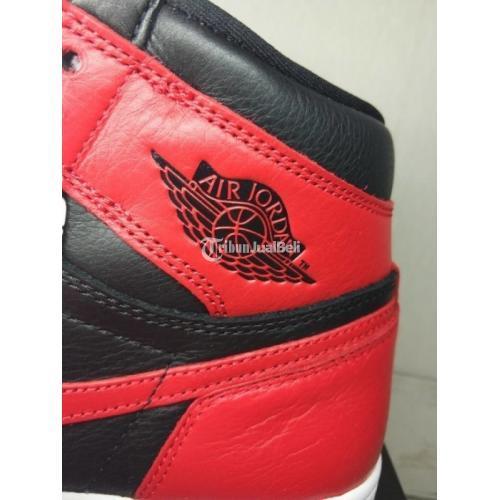 Sepatu Nike Air Jordan 1 Homage to Home Kondisi Baru Original Harga Murah - Jakarta