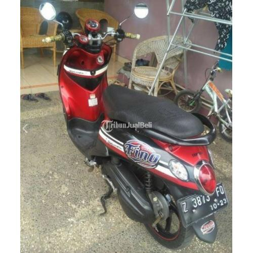 Motor Bekas Yamaha Mio Fino Karbu 2013 Mulus Surat Lengkap - Garut