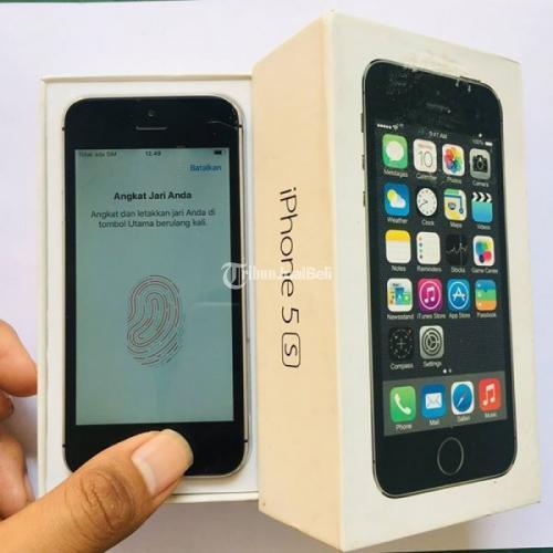 HP Apple Murah Iphone 5s 16GB Bekas FP Aman Normal Lengkap ...