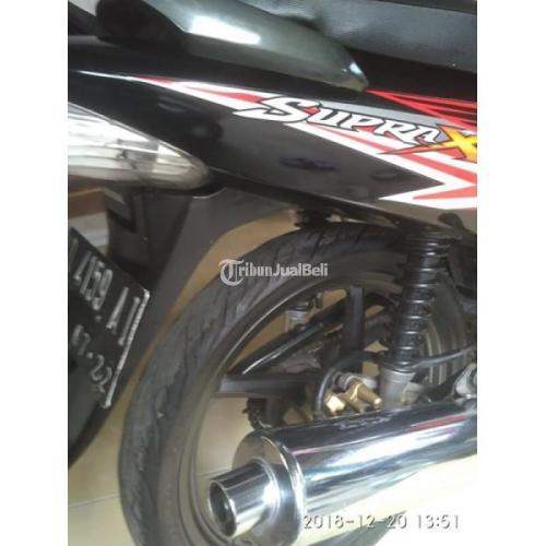 Motor Honda Supra X 125 Bekas Tahun 2012 Pajak Hidup Normal Lengkap Murah - Sukoharjo