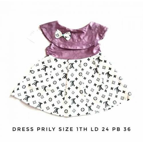 Baju Anak Perempuan Dress Murah Bahan Scuba Banyak Model Terbaru - Boyolali
