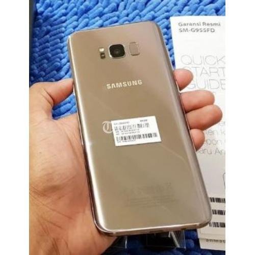 Hp Bekas Samsung Galaxy S8 Fullset Orisinil Mulus Banget Di Banjarmasin Tribunjualbeli Com