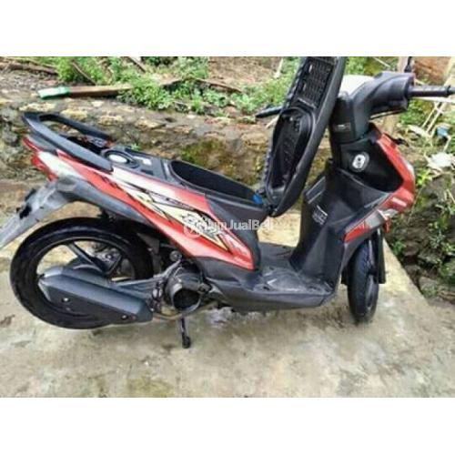 Motor Matik Honda Beat Tahun 2014 Bekas Normal STNK Only Harga Murah - Sragen