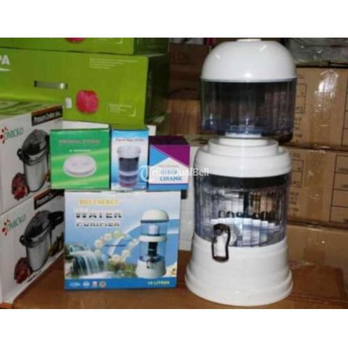 New! Bio Energy Mineral Water Pot Purifier Filter Air Untuk Minum - Jakarta Pusat