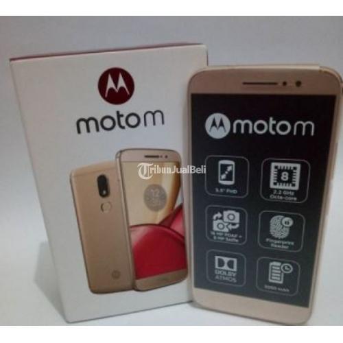 Hp Second Motorola Moto M XT 1663 Second Dual Hybrid Ram 4/32 GB - Surabaya