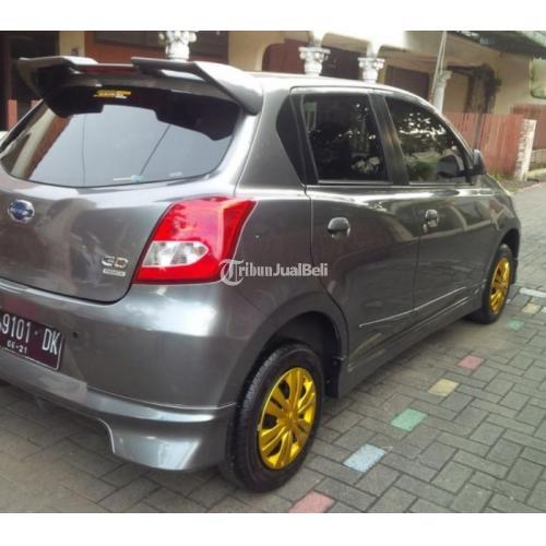 Mobil Bekas Datsun Go Panca 2 Baris Manual Tahun 2016 Abu Abu Metalik Mulus Terawat Sekali - Semarang