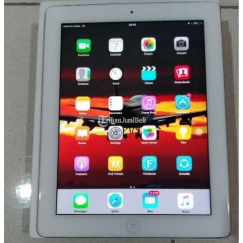 Apple iPad 3 64 GB Second A1430 Wifi + Cellular Fullset Mulus iCloud Aman - Medan