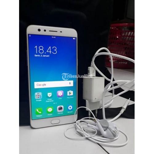 Handphone Oppo F3 Plus Gold Bekas HP 4G LTE Murah Ram 4GB Lengkap Normal - Makassar