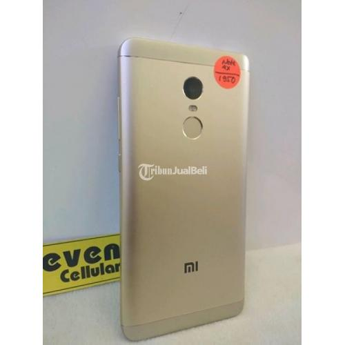 HP Ram 4GB Xiaomi Redmi Note 4X Gold Bekas Lengkap Original Harga Murah - Solo