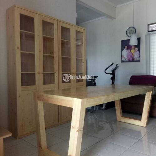 Furniture Meja Cafe Jati Belanda Harga Murah Di Jakarta Timur Tribunjualbeli Com
