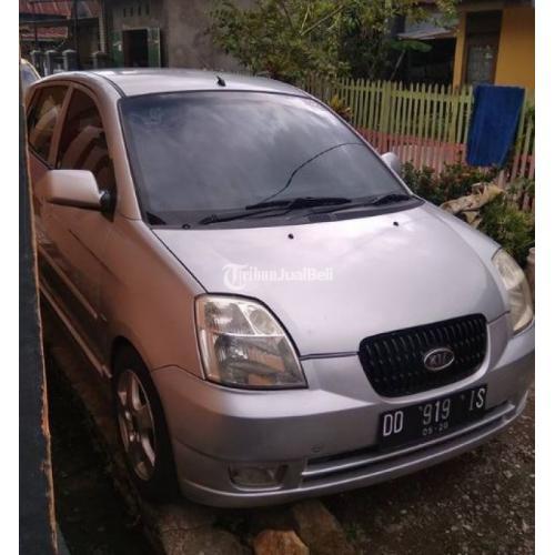 Mobil Kia Picanto Tahun 2005 Mesin Oke Surat Komplit Mesin Bagus Interior Oke - Makassar