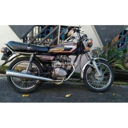 Motor Seken Honda Gl 100 1983 Kunci Aktif Plat H Surat Lengkap Semua Di Semarang Tribunjualbeli Com