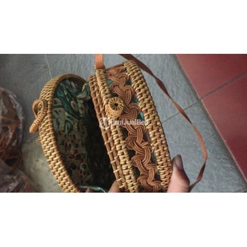 Open PO Tas Rotan Ata Bali Gendis 20cm Bahan Berkualitas Harga Murah - Bali