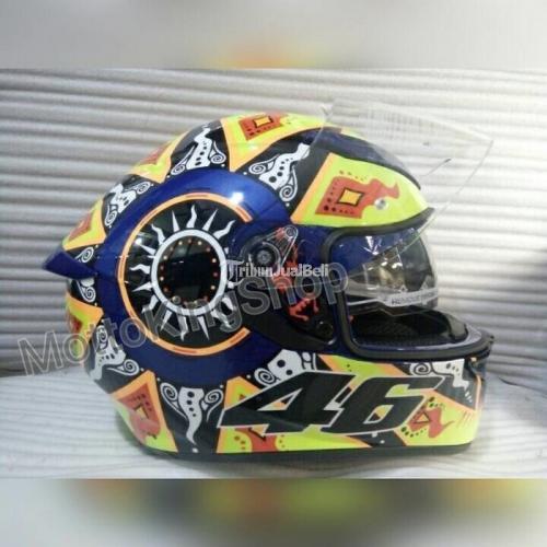 Helm Full Face Agv K3sv Rossi 2002 Kondisi Baru Real Pict Murah Di Surakarta Tribunjualbeli Com