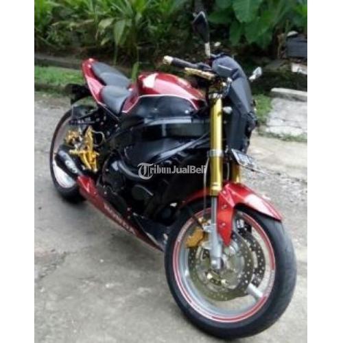 Honda CBR 600 F4 Injeksi Second 2005 STNK Only Modif Naked Big Bike - Depok