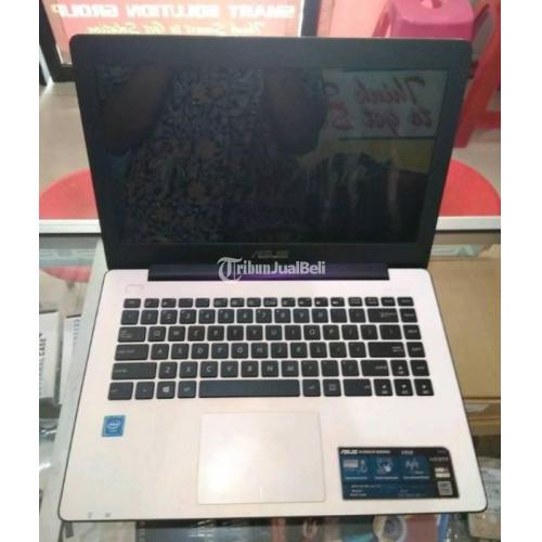 Laptop ASUS X453S 2GB RAM DDR3 Mulus Normal Lecet Pemakaian Baterai Normal