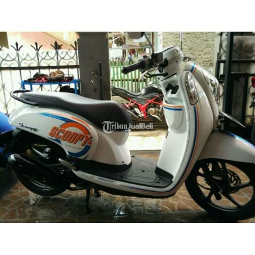 Motor Honda Scoopy Tahun 2015 Bekas Normal Low KM Terawat Murah - Bandung