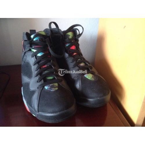 Sepatu Air Jordan 7 Bekas Special 30th Barcelona Night Second Original Lengkap Murah - Jakarta
