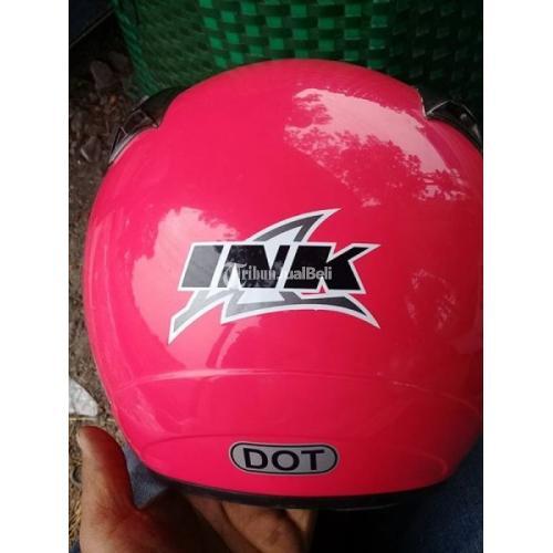 Helm INK CX Magenta Second Orisinil Normal Siap Pakai Harga Murah - Sukoharjo
