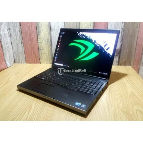 Laptop Gaming Bekas Dell Precision M6500 Core i7 Second Normal Baterai Awet Murah - Yogyakarta