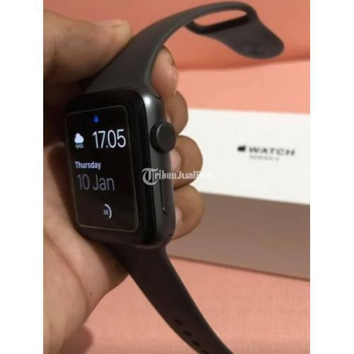 Apple Watch Series 3 Gps Space Grey Fullset Orisinil Di Semarang Tribunjualbeli Com