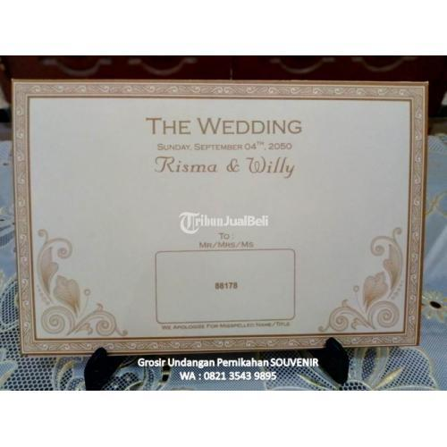 Kartu Undangan Pernikahan Unik Di Purwokerto Tribunjualbeli Com