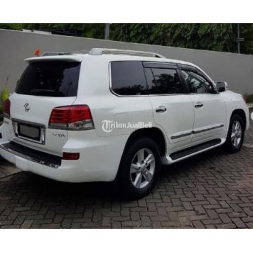 Mobil SUV Second Lexus LX 570 Luxury ATPM 2013 Sunroof - Jakarta