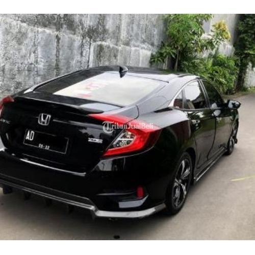 Mobil Bekas Honda Civic Turbo Sedan Fc1 Black On Black Plat Ad Di Solo Tribunjualbeli Com