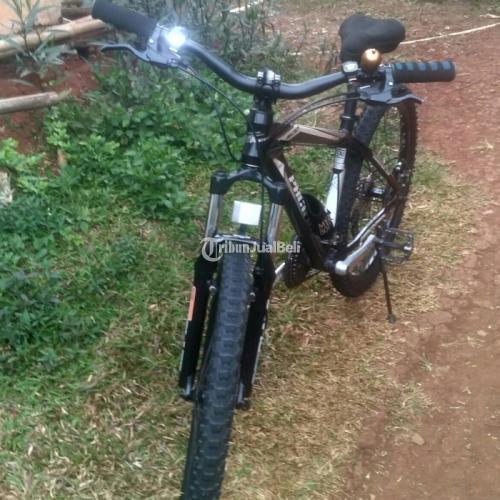 Sepeda Mtb Gunung Pacific Tranzline 500 Uk 26 Modif Di Bogor Tribunjualbeli Com