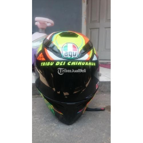 Helm Agv K3sv Element Bekas Full Face Murah Size M Visor 3 Normal Di Bandung Tribunjualbeli Com