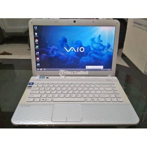 Laptop Sony Vaio Intel Core i3 Ram 4GB Normal No Minus Siap Pakai - Sidoarjo