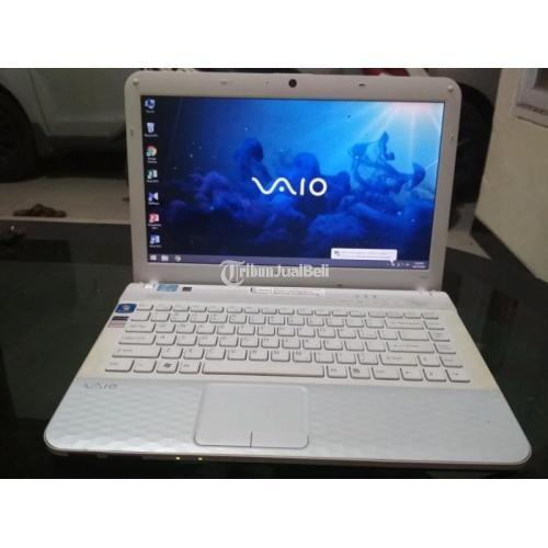 Laptop Sony Vaio Intel Core i3 Ram 4GB Normal No Minus Siap Pakai - Sidoarjo