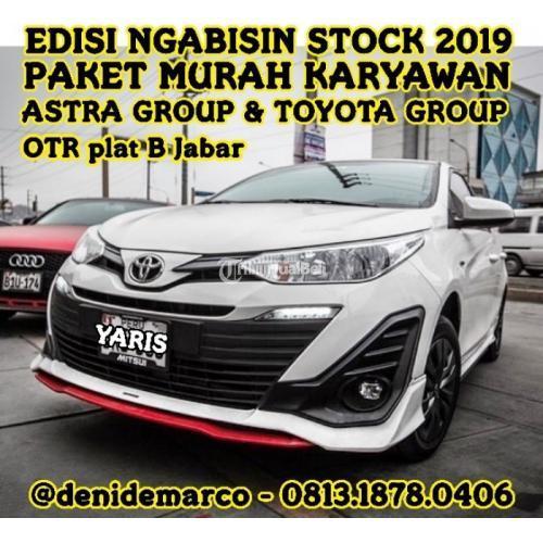 Promo Akhir Tahun 2019 Toyota Yaris Angsuran Rendah Dan Ringan Di Bekasi Tribunjualbeli Com