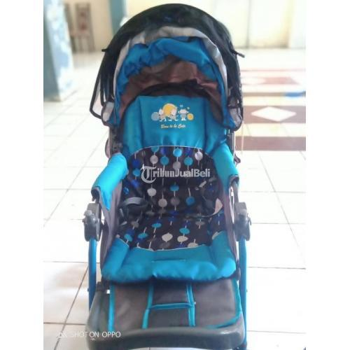 Stroller Bayi Murah Merek Pliko Second Like New Terawat Normal - Manado