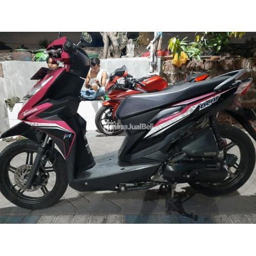 Motor Matic Murah Honda Beat Eco Bekas Tahun 2017 Low Km Harga Nego - Surabaya