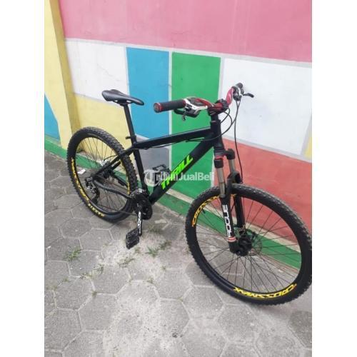 Sepeda Thrill Bekas MTB Murah Jok Velo Kulit Original