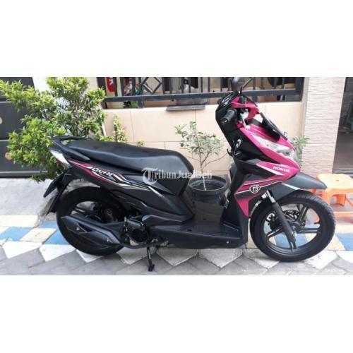 Motor Matic Murah Honda Beat Eco Cbs Iss Bekas Tahun 2019 Like New Lengkap Di Surabaya Tribunjualbeli Com