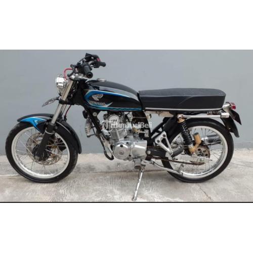 Motor Honda CB 1976 Asli CB 100 Plat AD Solo Pajak On Motor Siap Touring - Boyolali