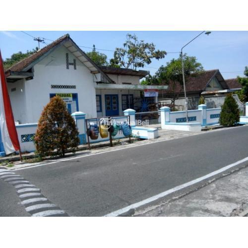 Dijual Rumah dan Tanah Tengah Kota Karanganyar Ada Luas Lokasi Ramai Dibelakang Kantor Pos Kota Persis - Karanganyar, Solo
