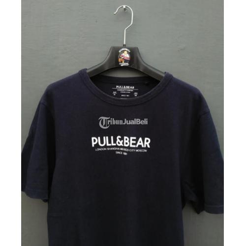 Kaos PULL & BEAR T-Shirt Original Size M Harga Murah - Surabaya