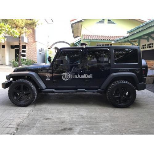 Mobil Jeep Wrangler Rubicon Bekas Tahun 2012 Full Aksesoris Low Km Harga Murah Di Surabaya Tribunjualbeli Com