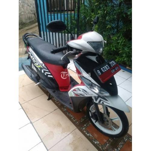 Motor Matic Murah Yamaha Mio J Teen Bekas Tahun 2013 Mulus Lengkap No PR - Depok