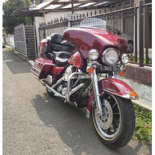 Harley Davidson Ultra Classic 1994 Cat Original Mesin Siap Gas Barang Terawat - Serang Banten