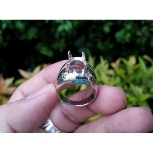 Ring Perak Hongkong 925 PRK038 Cowok Simpel Kokoh Harga Satuan - Jakarta Pusat