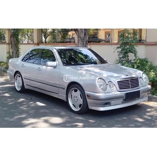 Mercedes Benz W210 New Eyes E230 Mt 1997 Silver Plat L Pajak Baru Surat Lengkap Di Surabaya Tribunjualbeli Com
