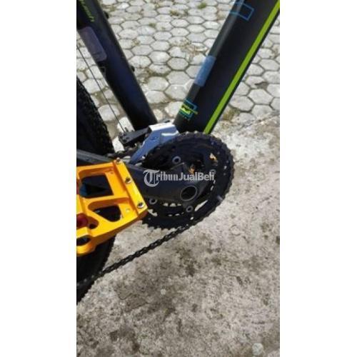Sepeda Thrill Vanquish 3 Tahun 2018 Full Upgrade Frame Oke Bagus Mulus Tinggal Gowes Di Bantul Jogja Tribunjualbeli Com