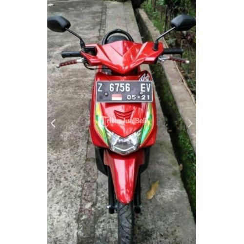 Motor Matic Bekas Honda Beat 2011 Full Orisinil Kondisi Mulus - Garut