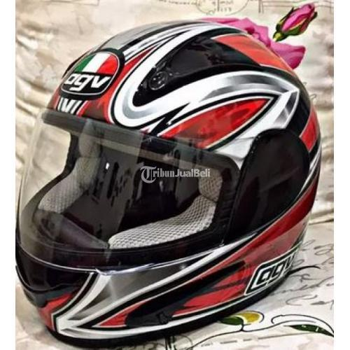 Helm Agv Murah Gp1 Robbiano Bekas Full Face Size L Normal Barang Koleksi Di Jakarta Tribunjualbeli Com