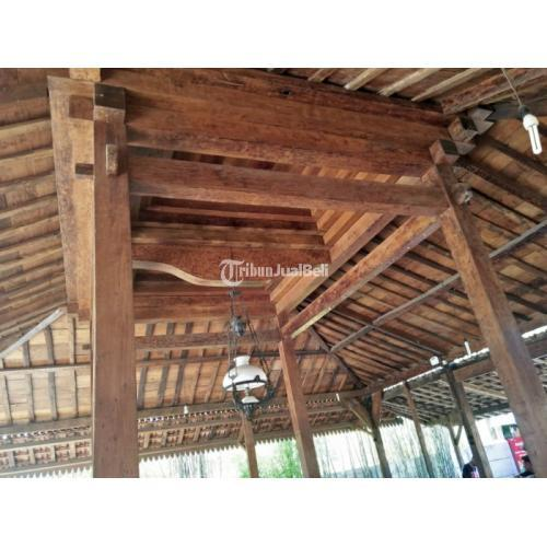 Rumah Adat Jawa Joglo Antik Full Plafon Kayu Jati Klasik Harga Murah - Karanganyar